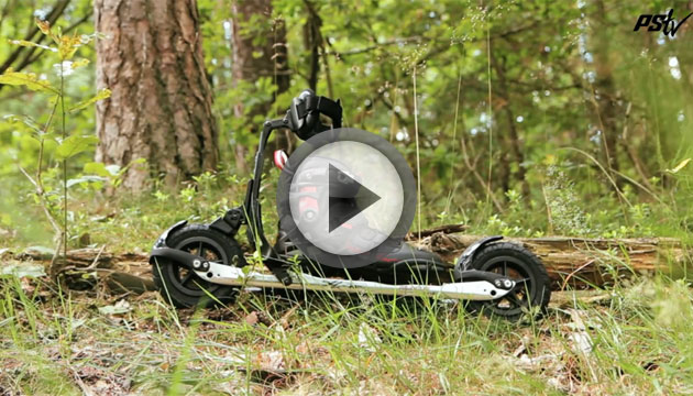 Video Powerslide XC Path Set with KV+ Campra Poles