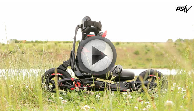 Video Powerslide XC Trail Set with LEKI Titanium Vario Poles